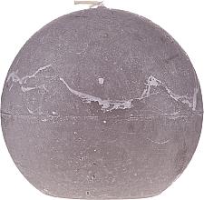 Kup Świeca zapachowa, brązowa kula, 12 cm - Ringa Grey Candle