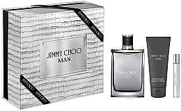 Kup Jimmy Choo Man - Zestaw (edt 100 ml + edt 7,5 m + ash/balm 100 ml)