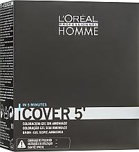Kup PRZECENA! Koloryzujący żel do włosów dla mężczyzn - L'Oréal Professionnel Cover 5 *