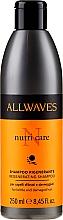 Kup Regenerujący szampon do włosów zniszczonych - Allwaves Nutri Care Regenerating Shampoo