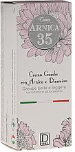 Kup PRZECENA! Chłodzący krem do nóg z ruszczykiem i kasztanowcem - Arnica 35 Cooling Foot Cream *