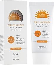Kup Przeciwsłoneczny krem wybielający do twarzy SPF 50+ PA+++ - Esfolio Multi Grain Sun Cream SPF 50+/PA+++