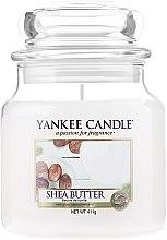 Kup Świeca zapachowa w słoiku - Yankee Candle Shea Butter