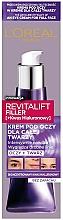 Kup Krem do twarzy i pod oczy - L'Oreal Paris Revitalift Filler Eye Cream For Face