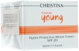 Kup Ochronny krem na dzień na okres zimowy SPF 20 - Christina Forever Young Hydra Protective Winter Cream