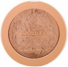 Kup Rozświetlający wypiekany bronzer do twarzy - Makeup Revolution Reloaded Powder Bronzer