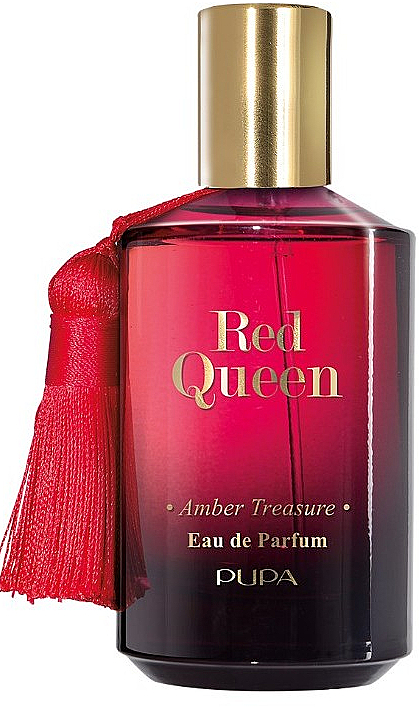 Pupa Red Queen Amber Treasure - Woda perfumowana