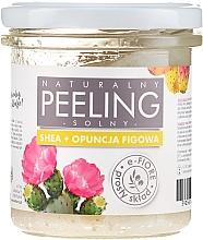 Kup Naturalny peeling solny Shea + opuncja figowa - E-Fiore