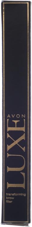 Wypełniający żel do brwi - Avon Luxe Transforming Brown Filler — фото N3