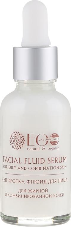 Serum-fluid do twarzy do cery tłustej i mieszanej - ECO Laboratorie Facial Fluid Serum — фото N2