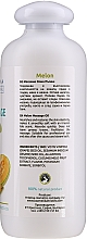 Melonowy olejek do masażu - Hristina Professional Melon Massage Oil — фото N2