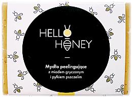 Kup Mydło peelingujące z miodem gryczanym i pyłkiem pszczelim - Lullalove Exfoliating Soap Bar With Honey