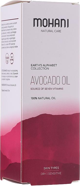 Olej awokado siedmiu witamin - Mohani Precious Oils
