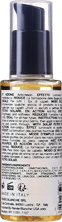 Serum do włosów - H.Zone Argan Active Shine Oil Serum  — фото N2