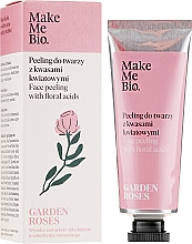 Kup Peeling do twarzy z kwasami kwiatowymi - Make Me Bio Garden Roses Face Peeling With Floral Acids