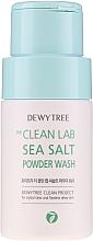 Kup PRZECENA! Puder do oczyszczania twarzy z solą morską - Dewytree The Clean Lab Sea Salt Powder Wash *