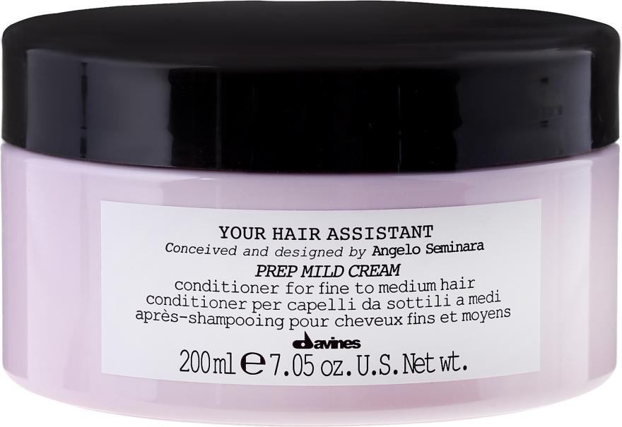Odżywka do włosów normalnych i cienkich - Davines Your Hair Assistant Prep Mild Cream — фото N1