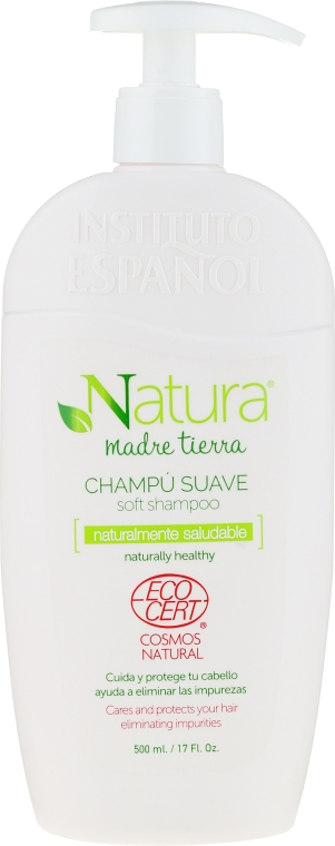 Delikatny szampon do włosów - Instituto Espanol Natura Madre Tierra Soft Shampoo — фото N1