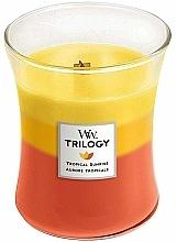 Kup Świeca zapachowa w szkle - Woodwick Tropical Sunrise Trilogy Candle