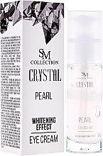 Kup Perłowy krem wybielający pod oczy - SM Collection Crystal Pearl Eye Cream