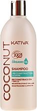 Kup Regenerujący szampon nabłyszczający do włosów - Kativa Coconut Reconstruction & Shine Shampoo