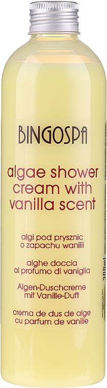 Relaksujące algi o zapachu wanilii pod prysznic - BingoSpa Algae Shower With Vanilla Scent