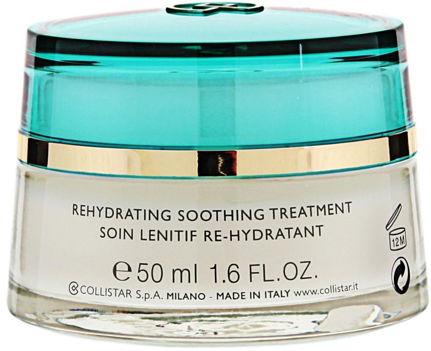 Nawilżająco-łagodzący krem do cery bardzo wrażliwej - Collistar Rehydrating Soothing Treatment Cream — фото N3