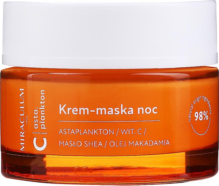 Krem-maska do twarzy na noc - Miraculum Asta.Plankton C Night Cream Mask