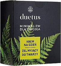 Kup Zestaw do pielęgnacji twarzy Minimalizm dla dwojga - Duetus (gel 150 ml + cr 50 ml)