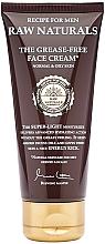 Kup Nawilżający krem do twarzy dla mężczyzn - Recipe For Men RAW Naturals The Grease-Free Face Cream