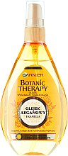 Kup Wygładzający olejek nabłyszczający do włosów matowych i niezdyscyplinowanych Olej arganowy i kamelia - Garnier Botanic Therapy Argan Oil&Camellia