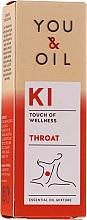 Kup Mieszanka olejków eterycznych - You & Oil KI-Throat Touch Of Welness Essential Oil