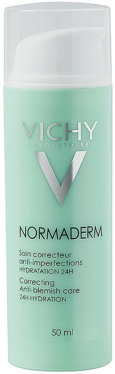Krem nawilżający do skóry z niedoskonałościami - Vichy Normaderm Soin Embellisseur Anti-Imperfections Hydratation 24H