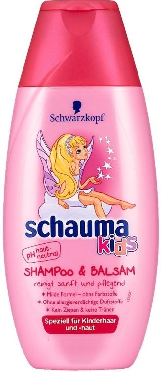 Szampon i odżywka dla dzieci - Schwarzkopf Schauma Kids Shampoo