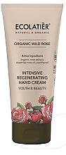 Kup Intensywnie regenerujący krem do rąk Młodość i piękno - Ecolatièr Organic Wild Rose Intensive Regenerating Hand Cream