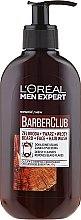 Kup Oczyszczający żel 3 w 1 do mycia brody, twarzy i włosów z olejkiem z drzewa cedrowego - L'Oreal Paris Men Expert Barber Club