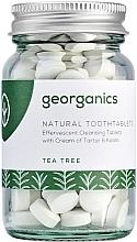 Kup Naturalne tabletki do mycia zębów Drzewo herbaciane - Georganics Natural Toothtablets Tea Tree