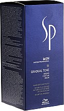 Kup Zestaw dla mężczyzn - Wella SP Men Gradual Tone Brown (hair/mousse 60 ml + shm 30 ml + brush)