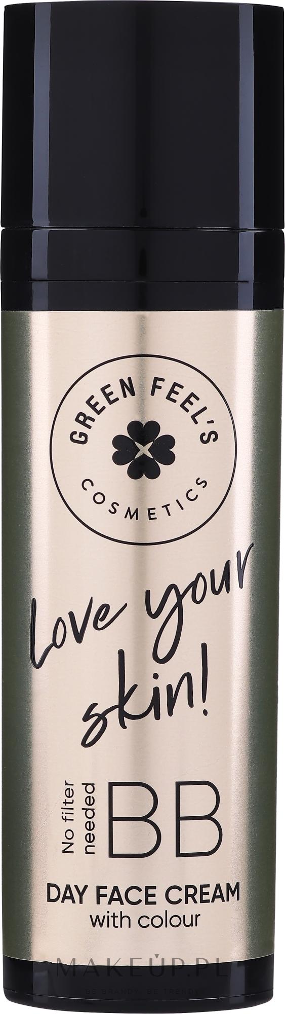 Krem BB - Green Feel's BB Matt Face Cream — фото Light