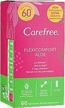 Kup Wkładki higieniczne, 60 szt. - Carefree Flexi Comfort Aloe Extract Pantyliners