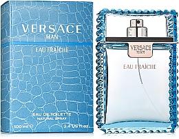 Versace Man Eau Fraiche - Woda toaletowa — фото N2
