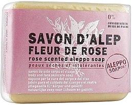 Kup Mydło aleppo w kostce o zapachu róży - Tadé Rose Flower Scented Aleppo Soap