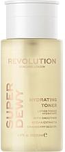 Kup Nawilżający tonik do twarzy - Revolution Skincare Superdewy Moisturizing Toner