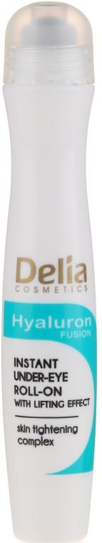 Liftingujący roll-on pod oczy - Delia Lifting Roll-On 3D Hyaluron Gel — фото N3