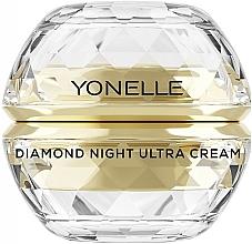Kup PRZECENA! Diamentowy krem do twarzy na noc - Yonelle Diamond Night Ultra Cream *