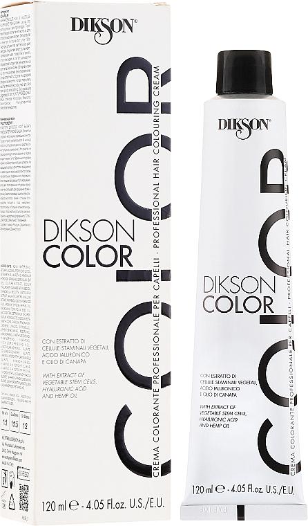PRZECENA! Profesjonalny krem koloryzujący do włosów - Dikson Professional Hair Colouring Cream * — фото N1
