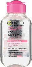 Kup PRZECENA! Płyn micelarny 3 w 1 do skóry wrażliwej - Garnier Skin Naturals *