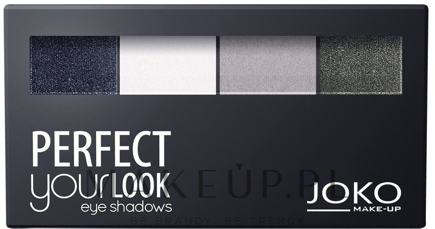 Paletka cieni do powiek - Joko Perfect Your Look Quattro Eye Shadows New — фото 400 Creamy