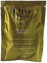 Kup Rozjaśniający puder z keratyną do włosów - Fanola Oro Therapy Color Keratin (sachets)
