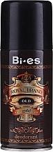 Kup Dezodorant w sprayu dla mężczyzn - Bi-es Royal Brand Gold